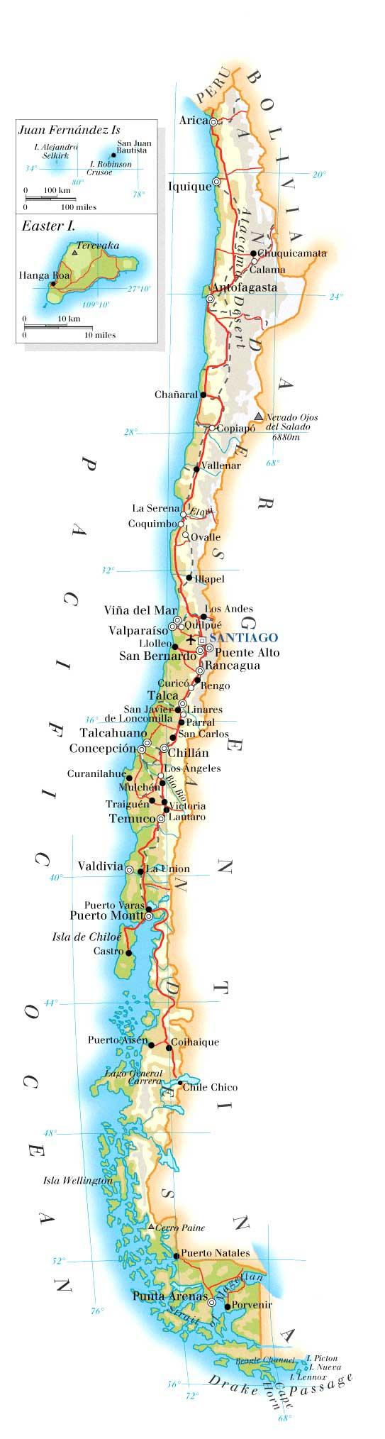 Chile weather « Brazil 4x4